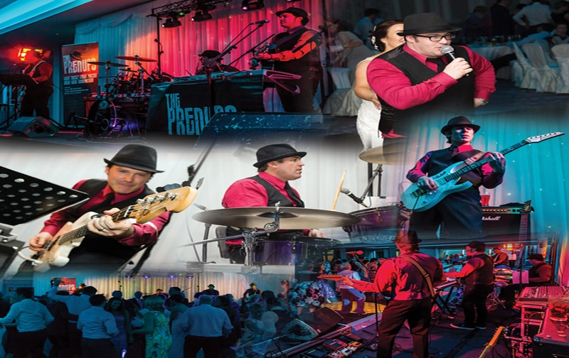 The Prenups wedding band Nationwide Band and DJ